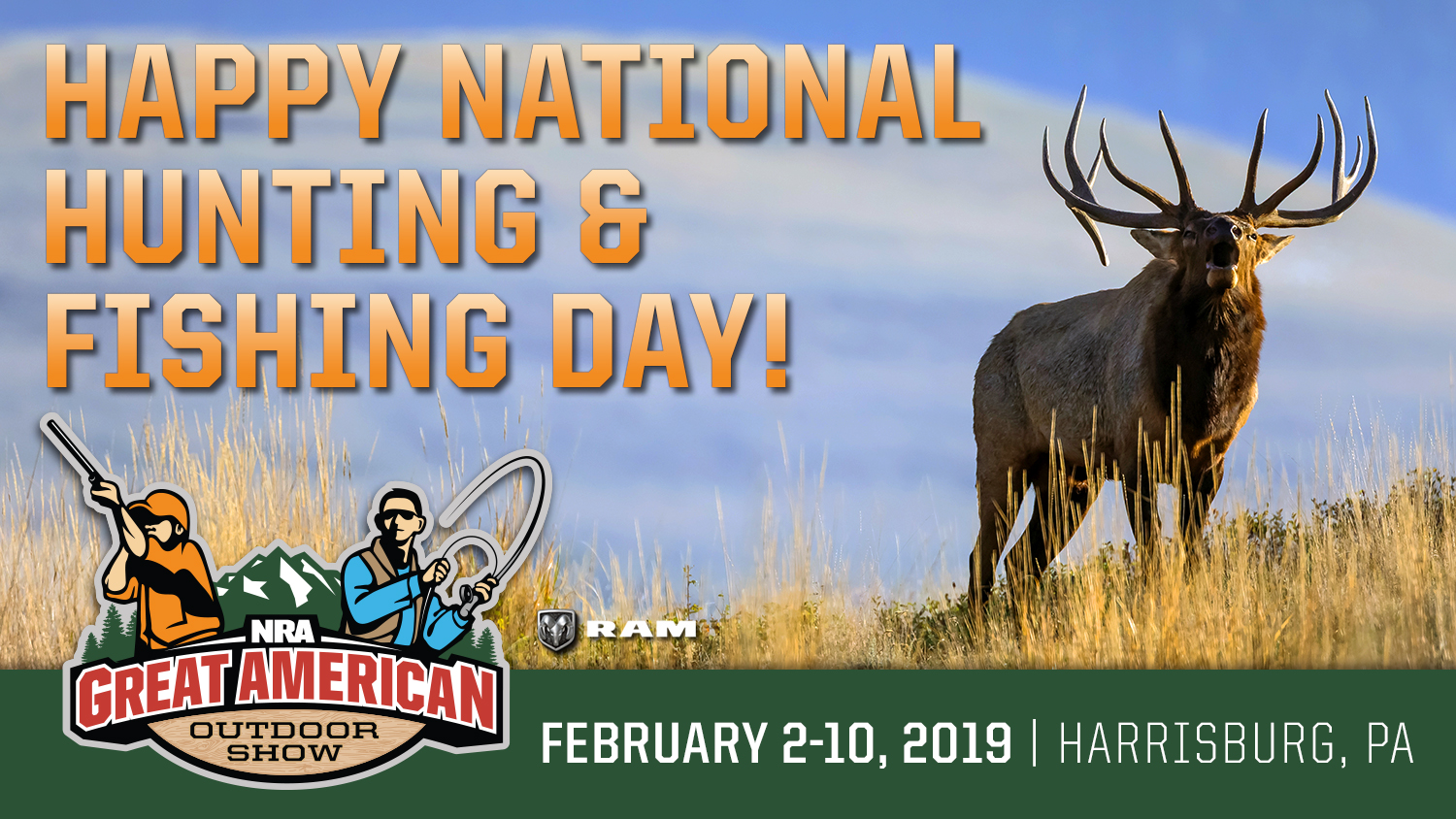 Celebrating National Hunting and Fishing Day with a Look Ahead to the 2019 Great American Outdoor Show