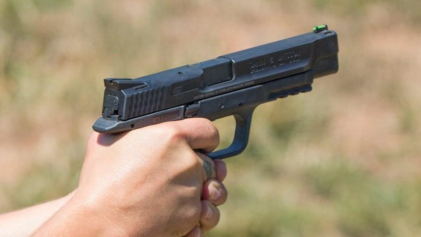 Pistol Trigger Squeeze