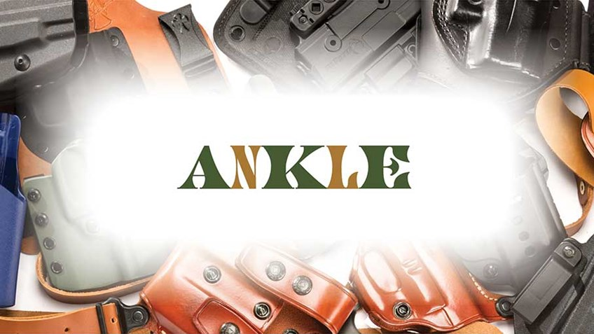 5 Dependable Ankle Holsters for Personal Defense