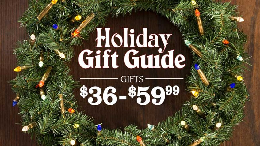 Holiday Gifts for the Gun Enthusiast: 15 Options From $25-35.99