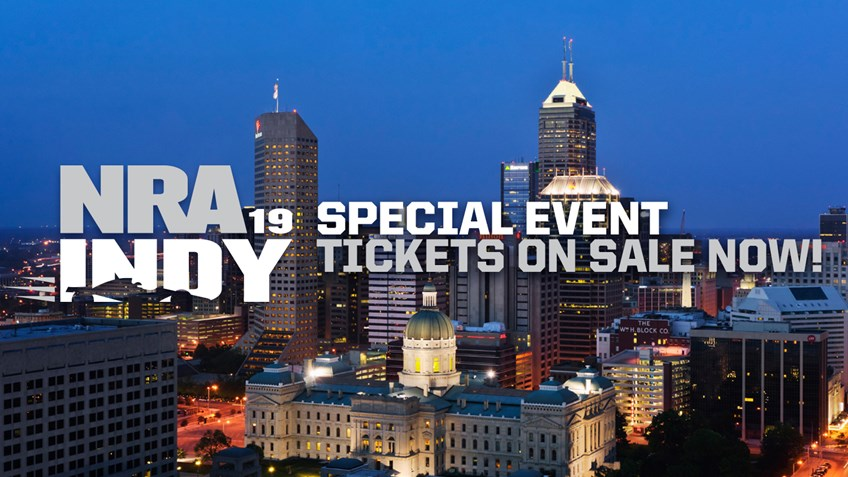 Tickets On Sale Now for Special Events at NRAAM in Indy!