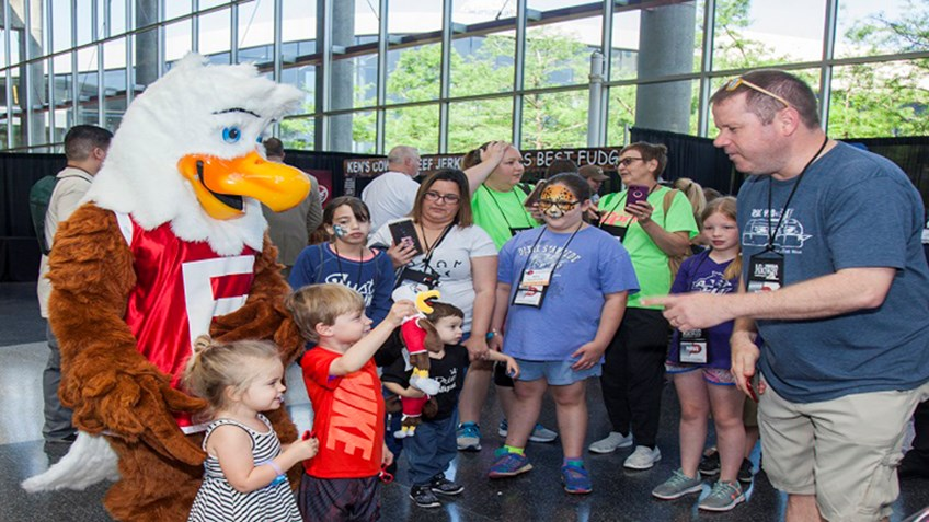 Meet Eddie Eagle and Learn the GunSafe Message at NRA Annual Meetings!