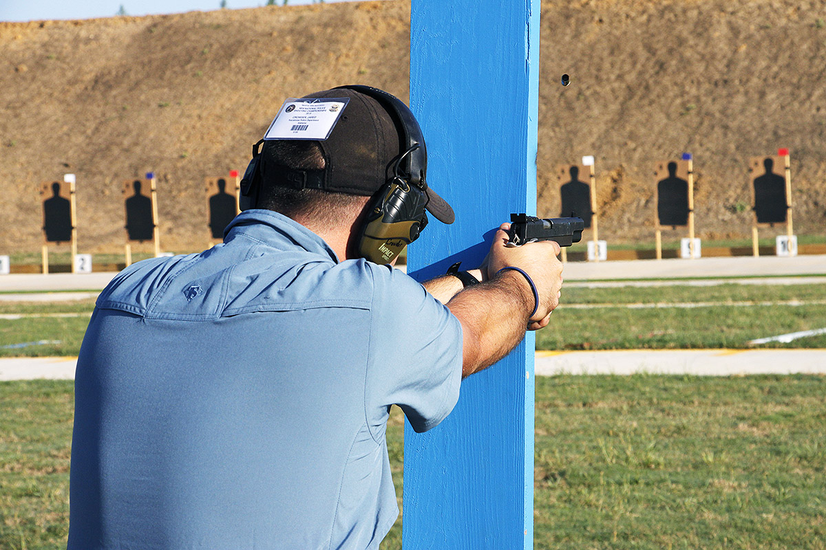 Opening shots of the 2019 NRA National Police Shooting Championships