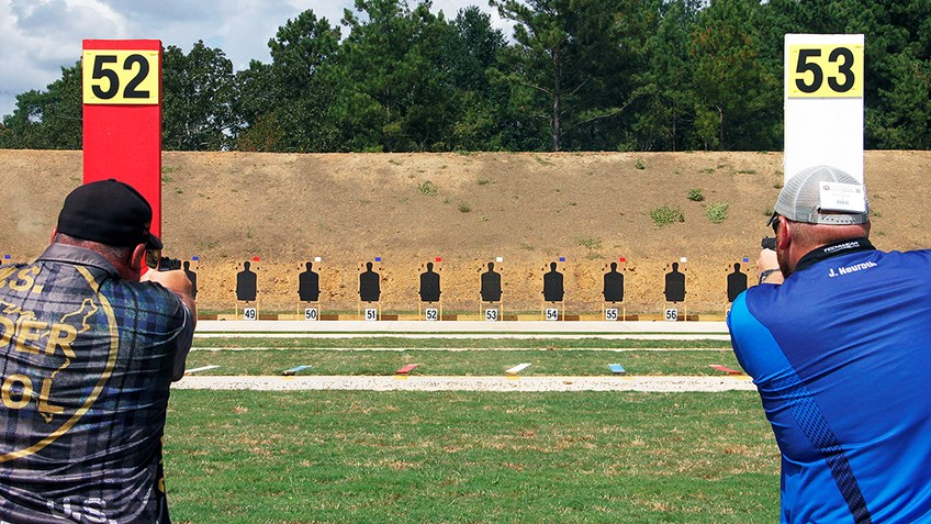Preliminary Scores from Day One of the NRA National Police Shooting Championships