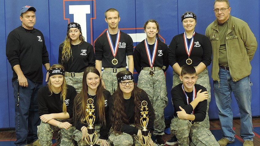 Lewis County High School Army JROTC has received more than $15,000 in NRA Foundation grants
