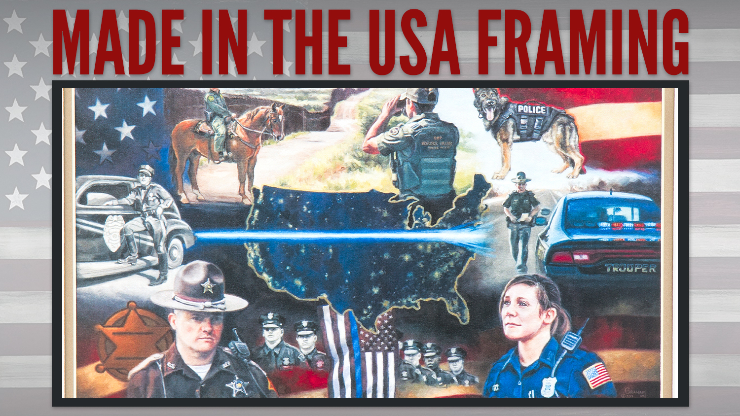 Made in the USA Framing