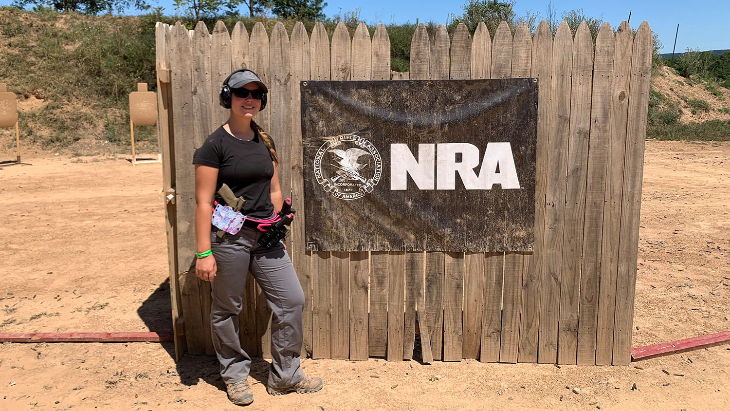 Y.E.S. Alum Follows Competitive Shooting Passion