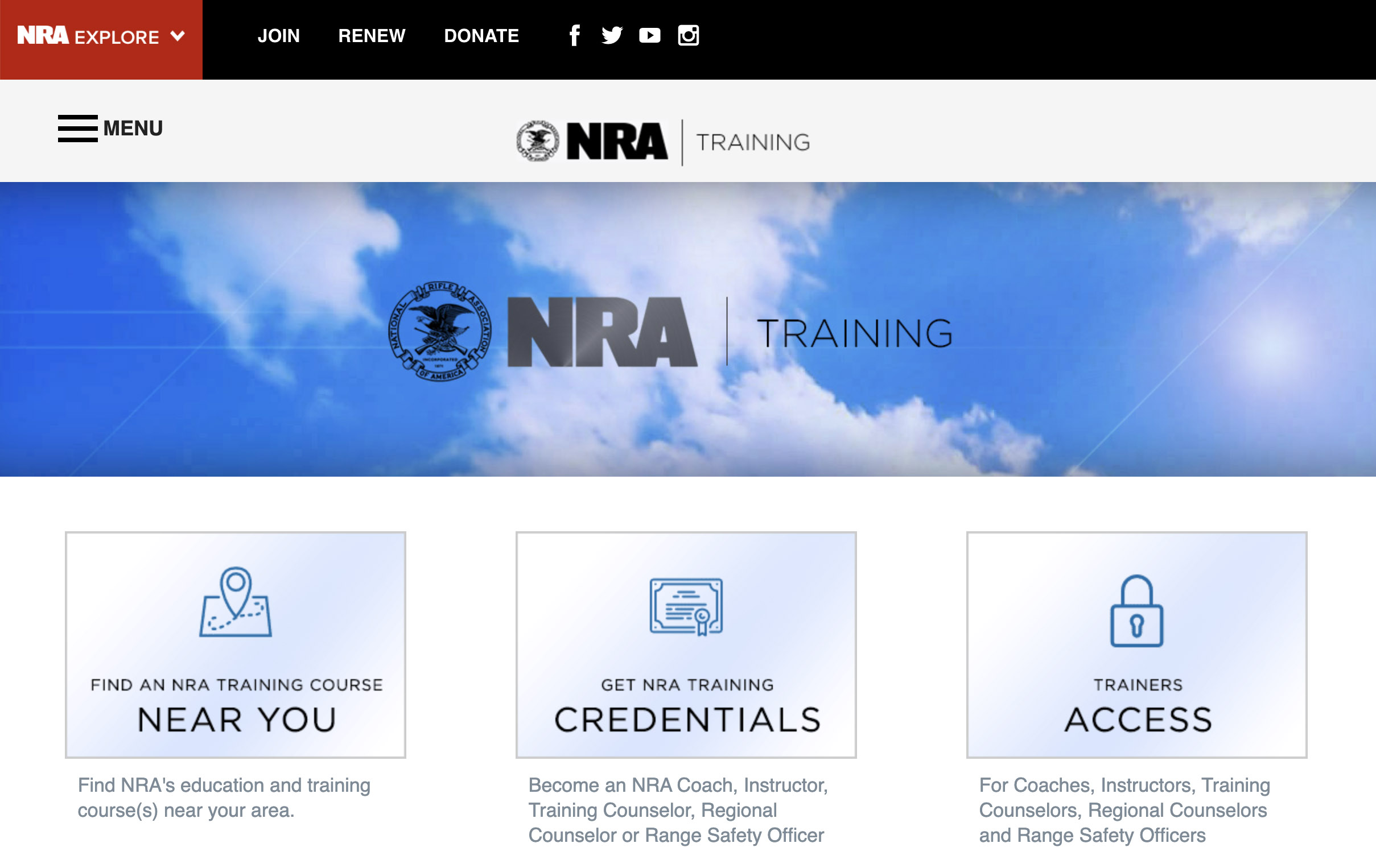 NRA Launches Online Gun Safety Courses
