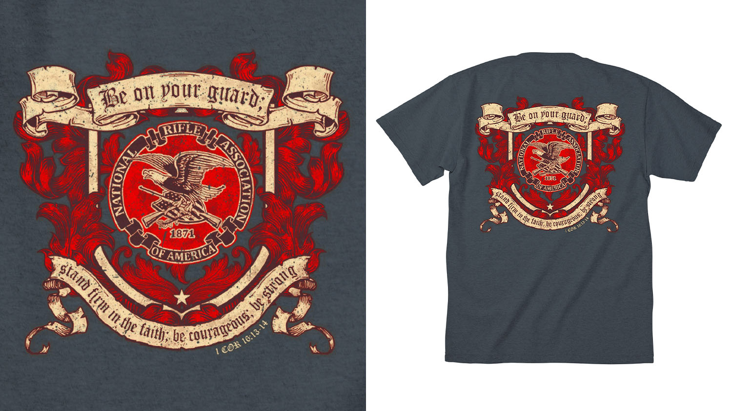 New NRAstore Gear: NRA Testament Tee