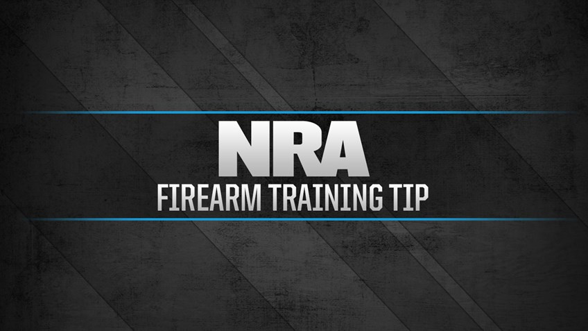 NRA Firearm Training Tip: Malfunction: Failure to Fire