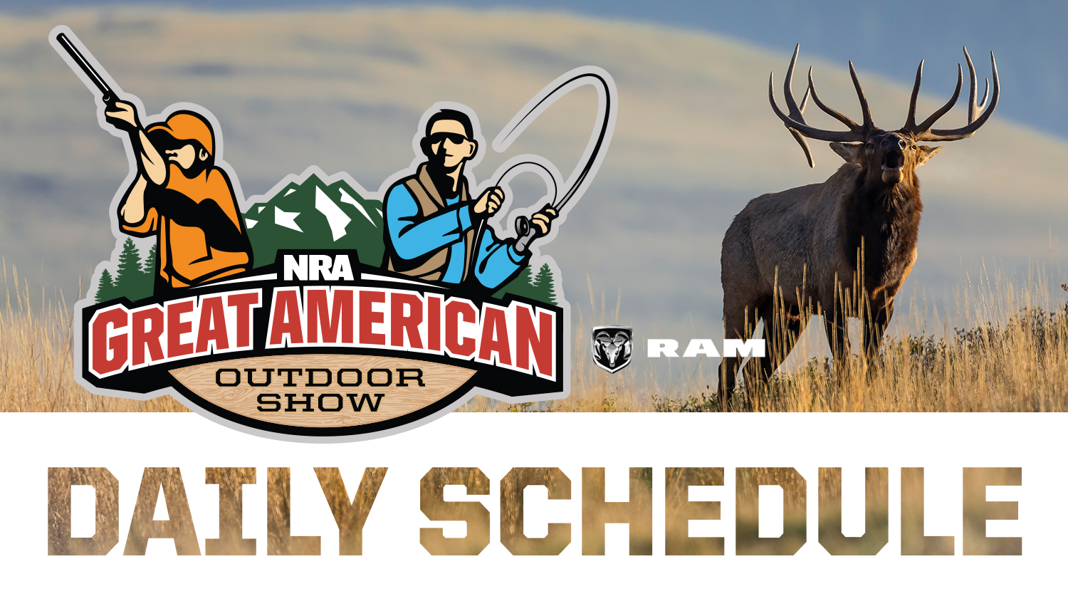 2019 Great American Outdoor Show Daily Schedule - Tuesday, February 5