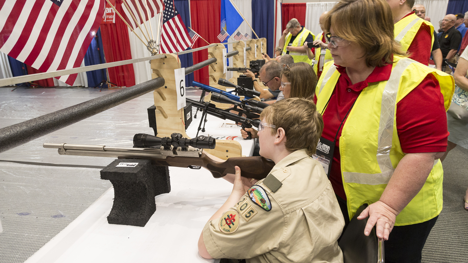 Hit the Range at NRA Annual Meetings